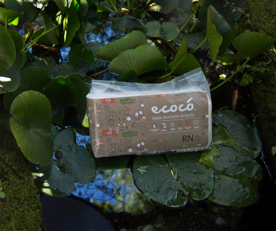 2 Paquetes Pañales Ecocó Talla M. ( 72 Unds)