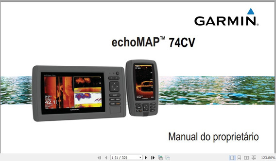 Manual Em Português Do Gps Garmin Echomap 74cv