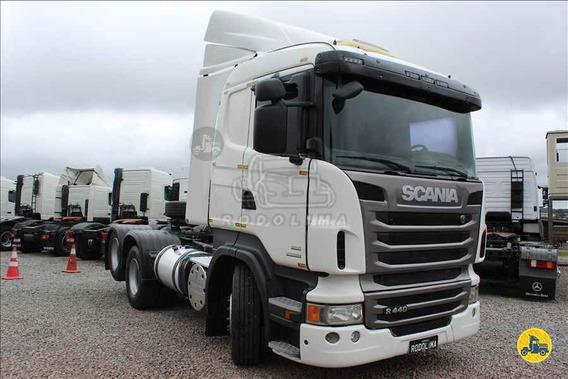 Scania R 440 Truck / Trucado 6x2 2013 Leito