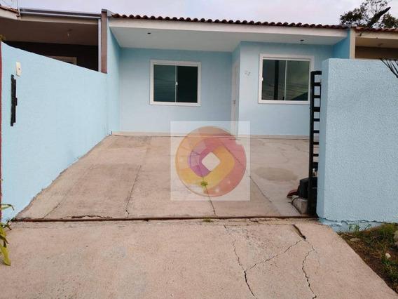 Casa Com 2 Dormitórios Para Alugar, 51 M² Por R$ 700,00/mês - Jardim Bela Vista - Campo Largo/pr - Ca0150