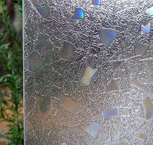 Imagen 1 de 6 de Bloss 3d Static Cling Ventana De La Ventana Vidrio Manchado