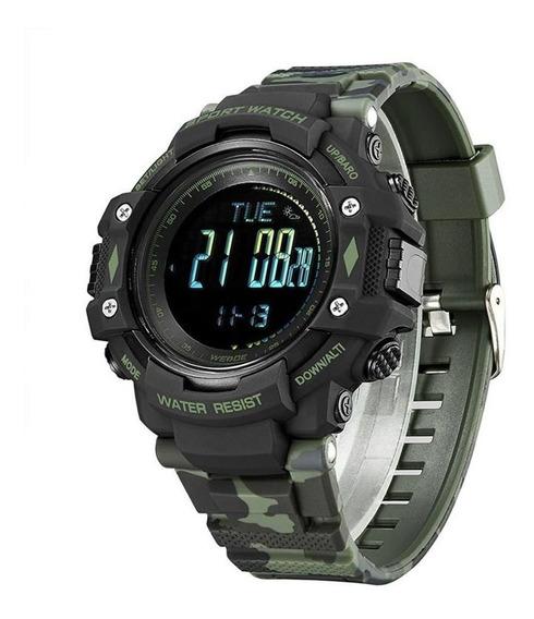 Relógio Digital Esportivo Com Pedômetro - Wa9j001 - Verde