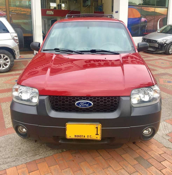 Ford Escape 2006. Motor 3.000. Automatica Blindaje Nivel 3