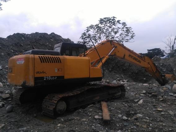 Excavadora Hyundai 210 Lc-7 Año 2008