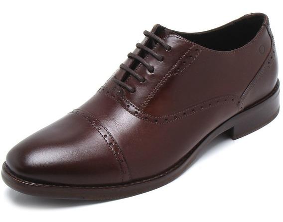 Zapato Acordonado De Cuero Democrata Orion 210102