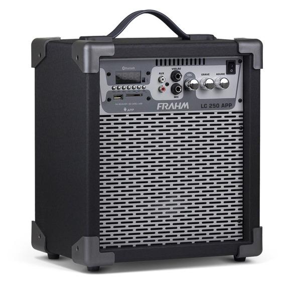 Caixa Amplificada Frahm Cinza - Lc250app 60w Bluetooth Usb