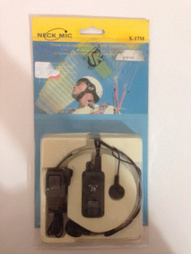 Laringofone: Earphone Com Microfone De Garganta Motorola