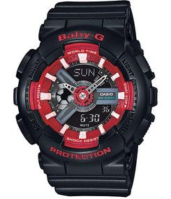 Relógio Casio Baby-g Anadigi Feminino Ba-110sn-1adr
