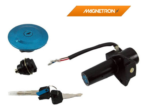 Kit Chave Ignição Contato Factor 125 14 Fazer 150 Xtz 125 09