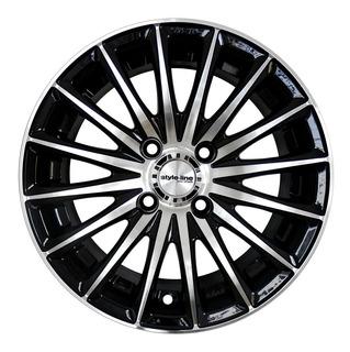 Llanta Deportiva Style Line Diamante Rodado 14 Ford Peugeot