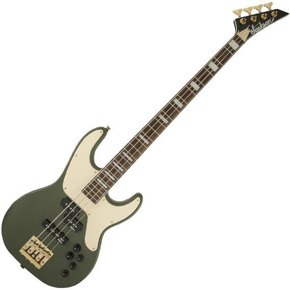 Contrabaixo Jackson Concert Bass X Matte Army Drab Cbxnt Iv
