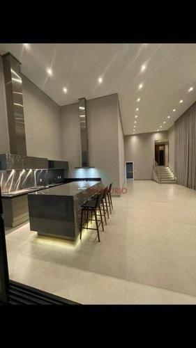 Imagem 1 de 19 de Casa Com 3 Dormitórios À Venda, 260 M² Por R$ 1.850.000,00 - Tivoli I - Bauru/sp - Ca3428