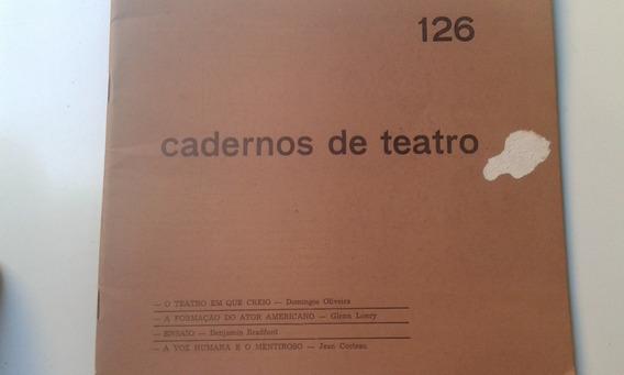 Livro - Cadernos De Teatro 126 - Jean Cocteau - Glenn Lonry