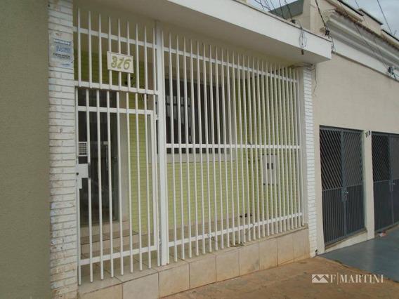 Casa Para Alugar, 132 M² Por R$ 1.300/mês - Centro - Piracicaba/sp - Ca1642