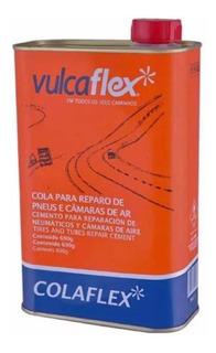 Cola Remendo Quente Em Lata Vulcaflex Bike E Moto 690 Ml
