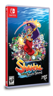 Shantae And The Seven Sirens Switch - Sellado*