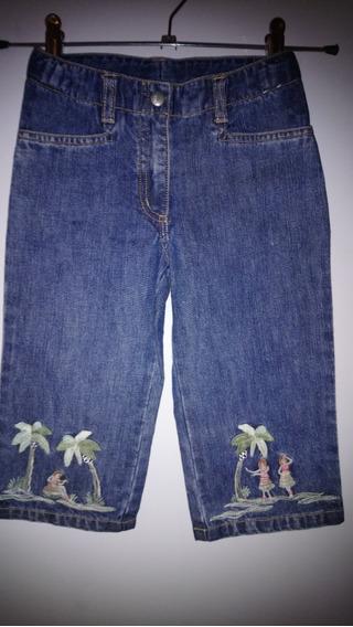 Bermuda Jean Importada Marca Gymboree Talle 5 Años