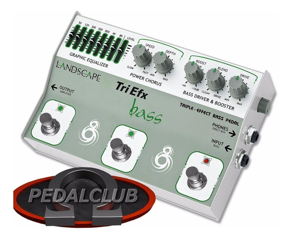 Landscape Triefx Bass Equalizer Power Chorus Drive/boost