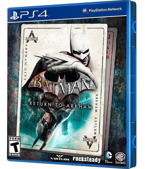 Batman Return To Arkham (ps4) Lacrado / Mídia Física