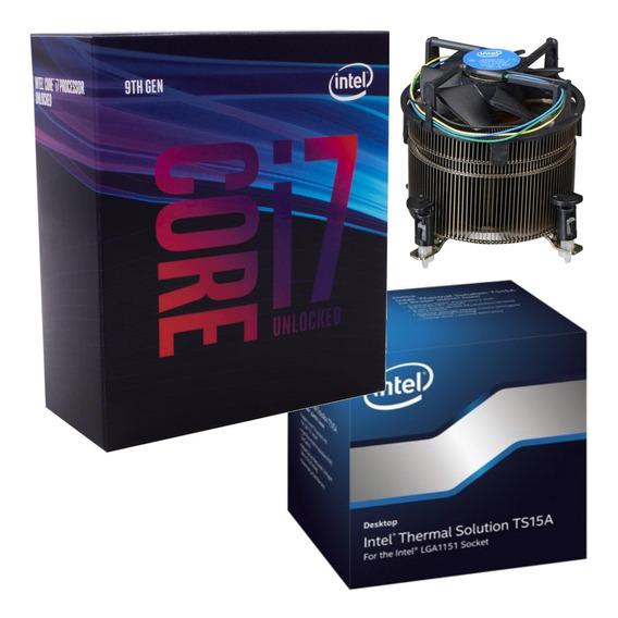 Micro Procesador Intel Core I7 9700k 4.9ghz + Cooler Intel