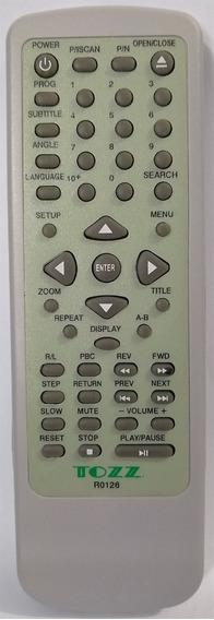 Cr-2123 Controle Remoto P/ Dvd Sky7612 Vicini Paralelo