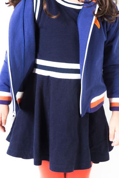 Vestido Veoveo - Colección Xolo - Azul