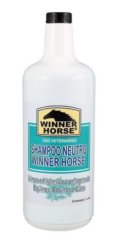 Imagem 1 de 1 de Shampoo Neutro - Winner Horse 0924