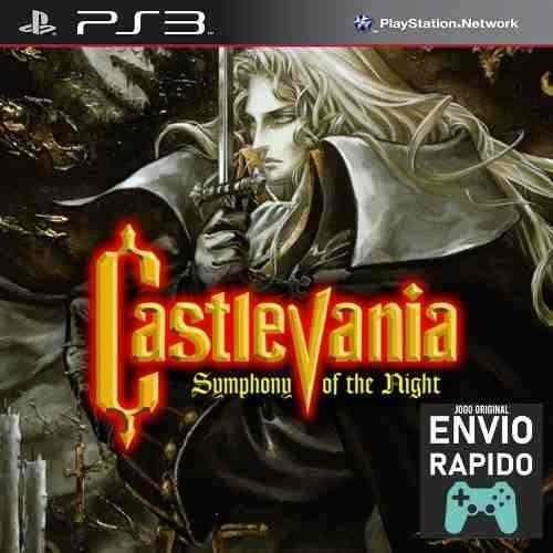Castlevania Symphony Of The Night - Jogos Ps3 Original