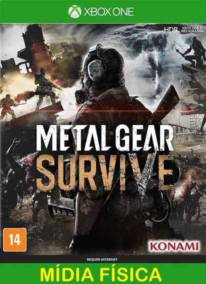 Metal Gear Survive Xbox One - Mídia Física