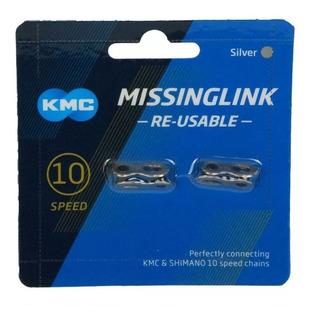 Par Emenda Corrente Kmc 10v Missing Link Shimano Power Link