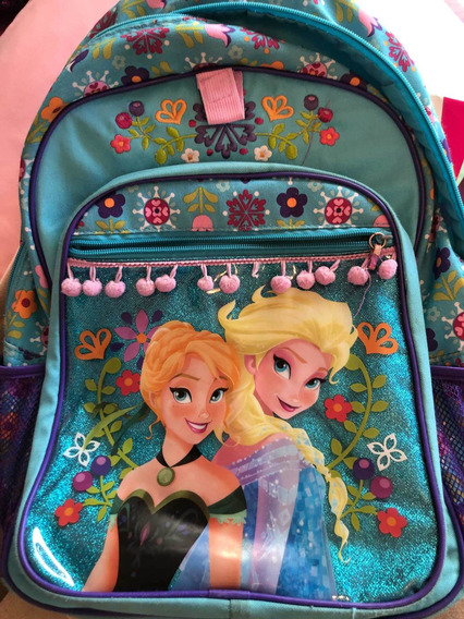 Mochila Frozen Importada. Original De Disney!!