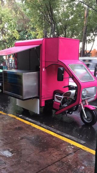 Motocarro Tipo Foodtruck Sin Uso
