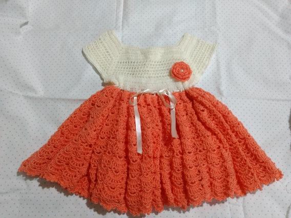 Vestido Tejido Crochet Nena