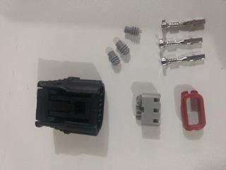 Conector Plug Bobina Honda New Civic Kit 4 Peças