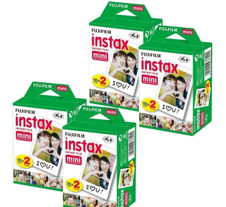 80 Fotos Fujifilm Para Instax Mini (8 Rollos) + Envio Gratis