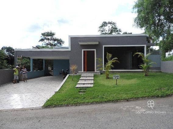 Casa Com 4 Dormitórios À Venda, 400 M² Por R$ 980.000 - Recanto Verde - Granja Viana - Carapicuíba/sp - Ca1507