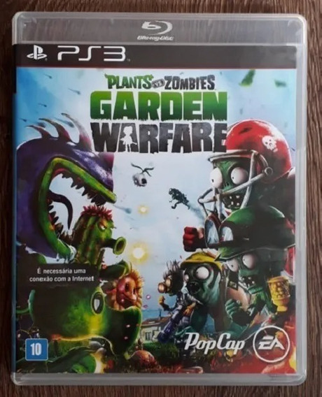 Plants Vs Zombies Garden Warfare - Ps3 Original Midia Fisica