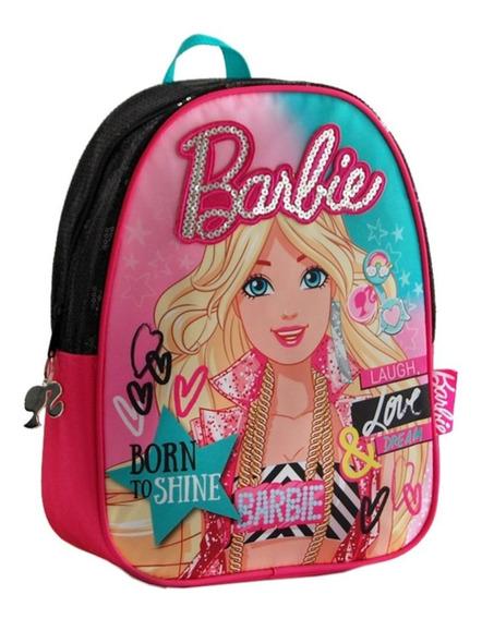 Mochila Barbie Detalles De Lentejuelas Lo De Renata Tienda