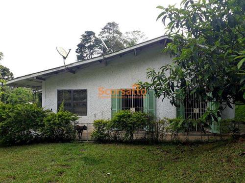 Chácara Com 4 Dorms, Potuverá, Itapecerica Da Serra - R$ 880 Mil, Cod: 3580 - V3580