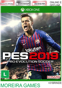 Pes 2019: Xbox One Digital Online E Offline + Brinde