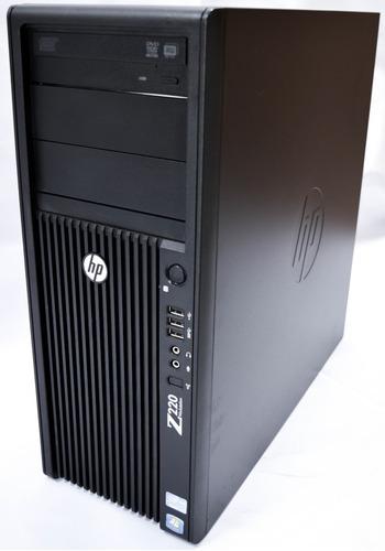 Workstation Hp Z220 8gb Ddr3 Hd 1tb Sata 1 Processador Quad