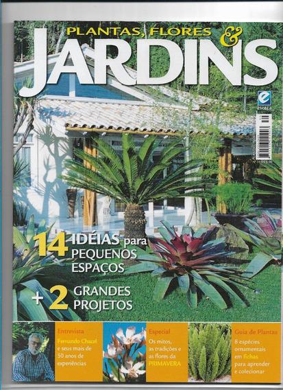 Plantas Flores Jardins Revista Ed 39 Ideias Pequenos Espaços