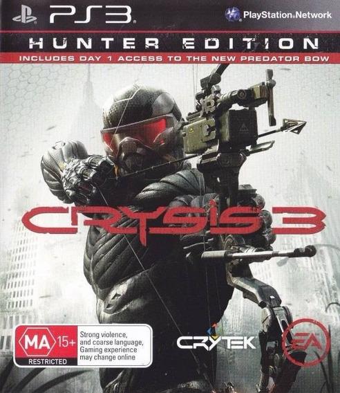 Jogo Crysis 3 Playstation 3 Ps3 Mídia Física Game Crytek Ea