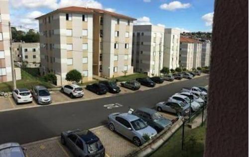 Apartamento Com 2 Dormitórios À Venda, 44 M² Por R$ 225.000 - Vale Das Figueiras - Valinhos/sp - Ap0915