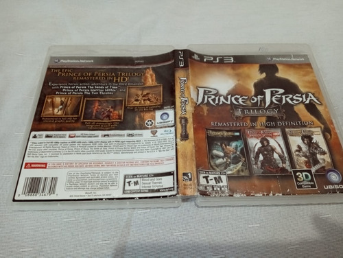 Games Jogos Prince Of Persia Trilogy Ps3 Play3 3#