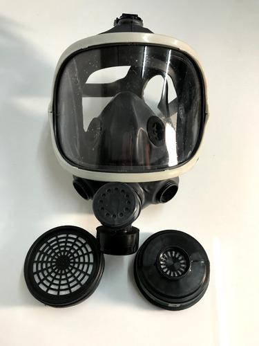 Imagen 1 de 2 de Máscara Panorámica Bi-filtro + 2 Cartuchos A