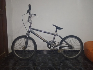 Bicicleta Bmx Cromada - Rodado 20 - Cuadro Bmx