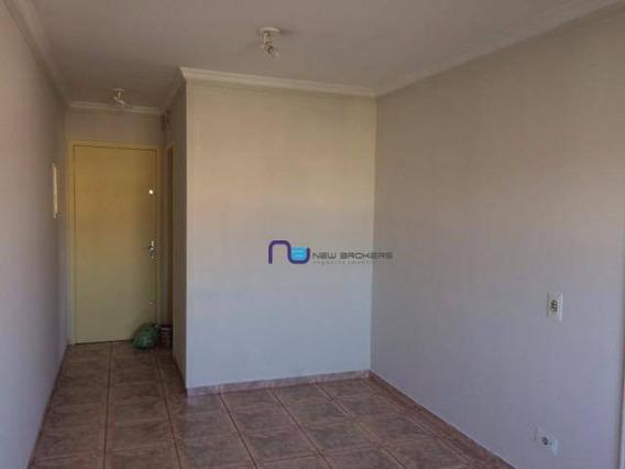 Apartamento Com 2 Dormitórios Para Alugar, 55 M² Por R$ 1.100/mês - Vila Carmosina - São Paulo/sp - Ap4096