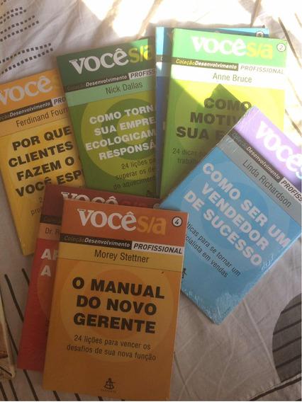 Livros Coleção Vc/sa Profissional