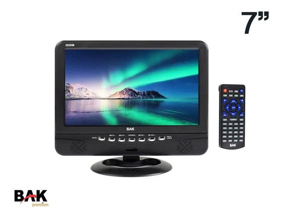 Tv Portátil Bak Isdbt Lcd Digital 7